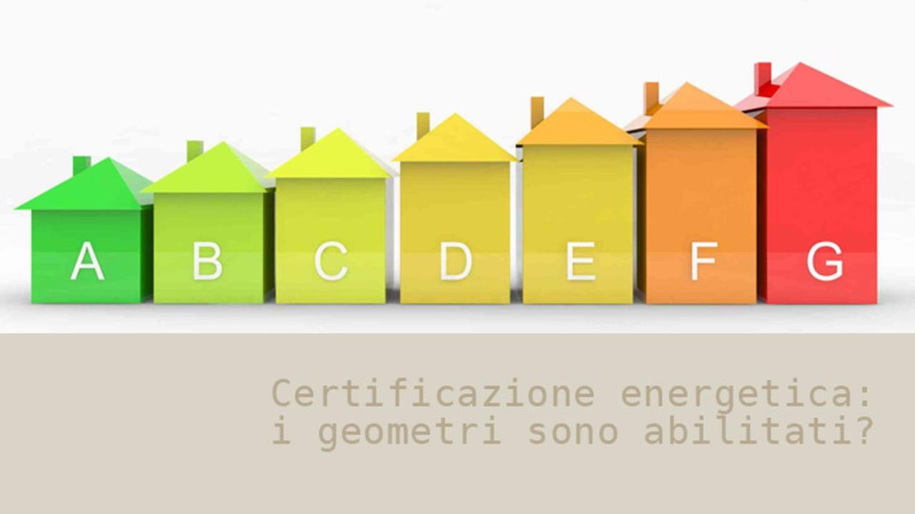 Come ottenere la certificazione energetica